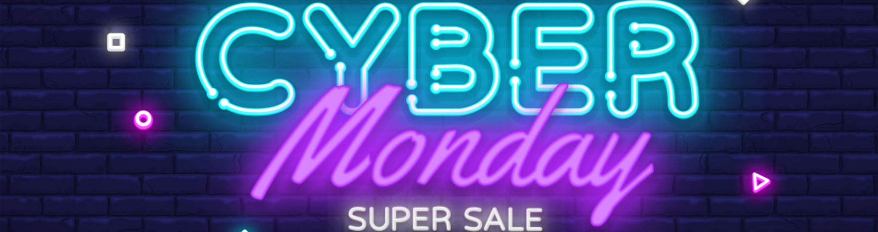 Cyber Monday -50% SALE